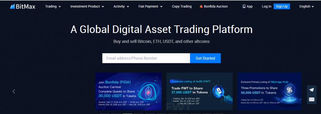Bitmax Token Review, Bitmax Token Platform