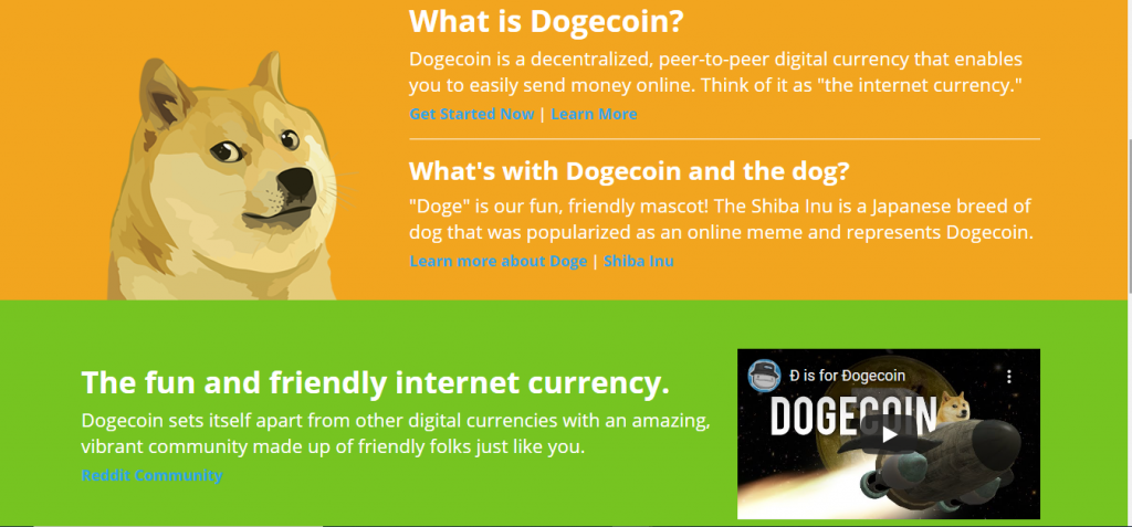 Dogecoin Review, Dogecoin About