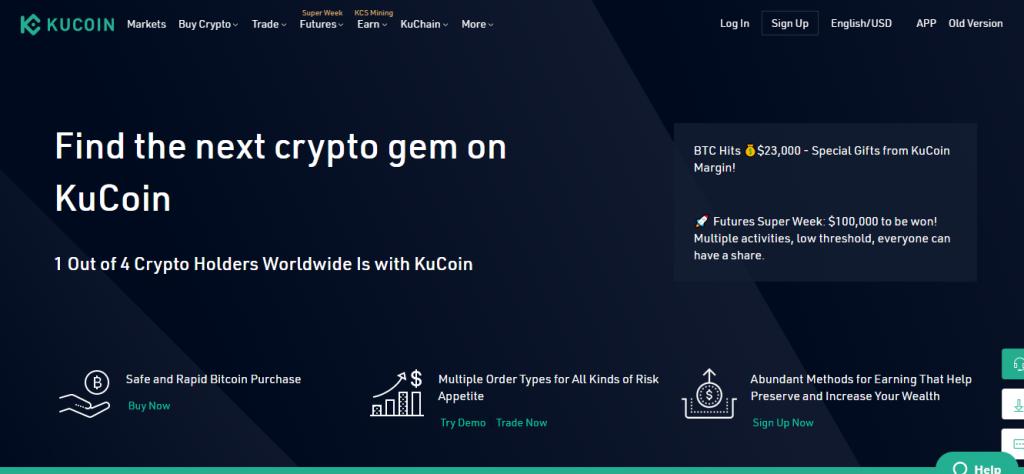 Kucoin Review, Kucoin Platform