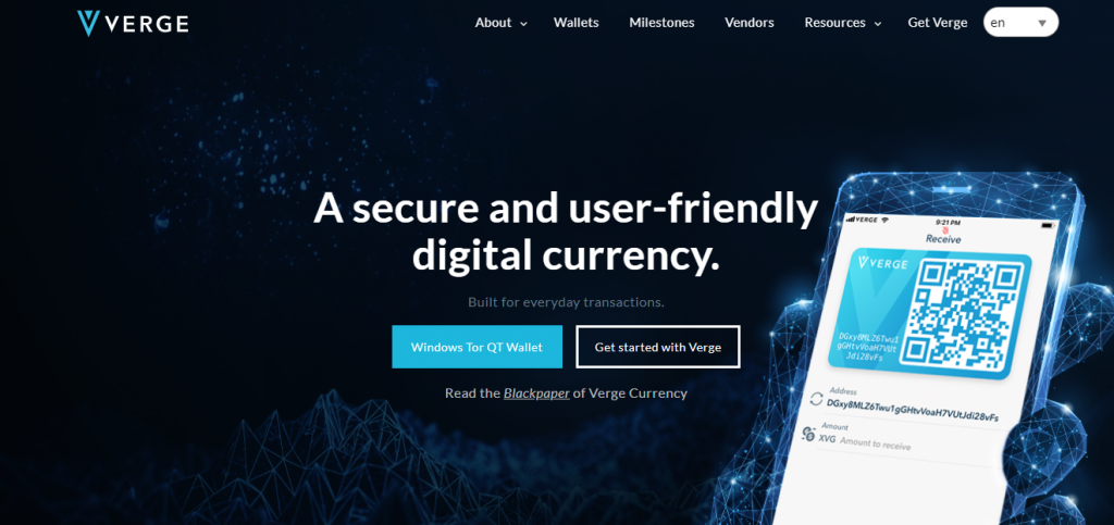 Verge Review, Verge Coin Company