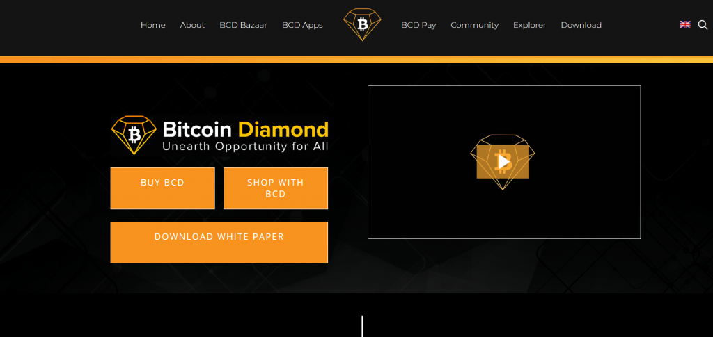 Bitcoin Diamond Review, Bitcoin Diamond Platform