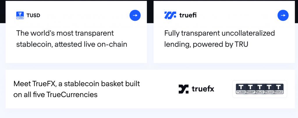 TrueUSD Review, TrueUSD Platform