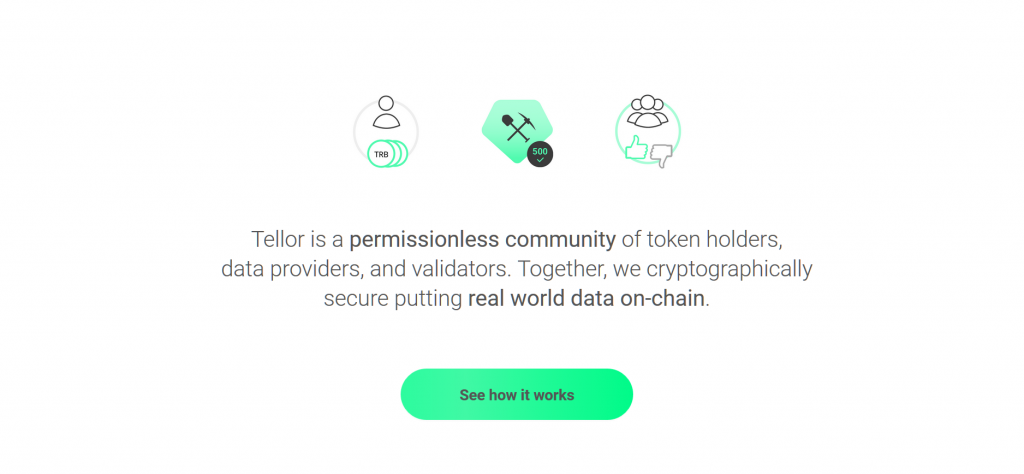 Tellor Review, Tellor Platform