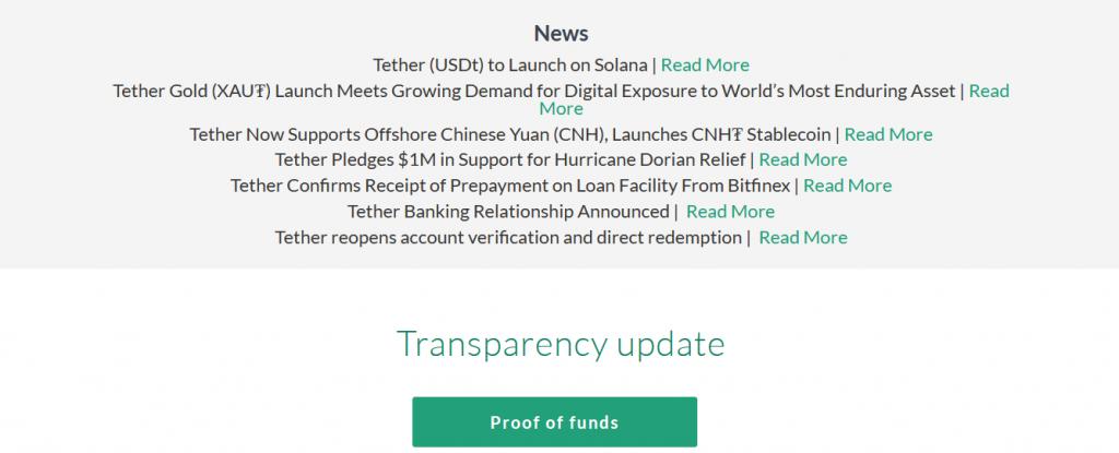 Tether Review, Tether Platform