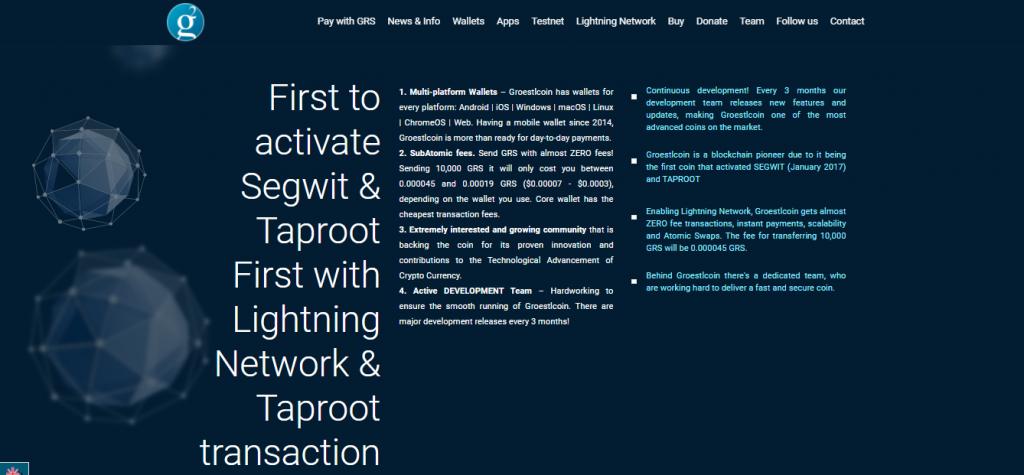 Groestlcoin Review, Groestlcoin Platform