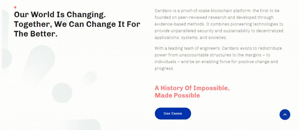 Cardano Review, Cardano Features