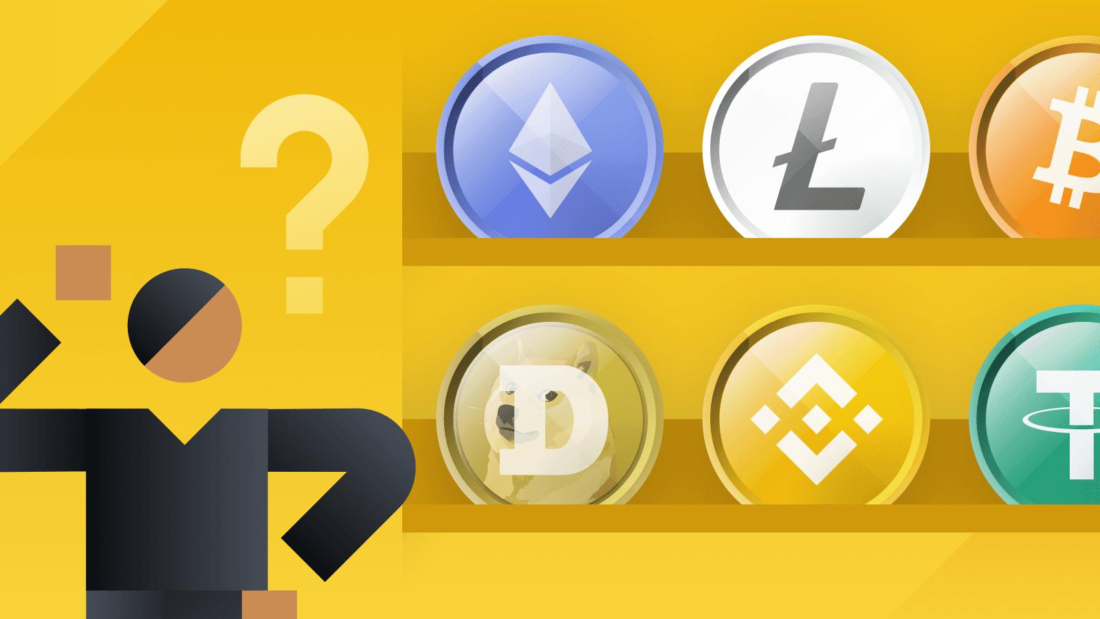 Exchange Altcoins for Major Crypto Coins.