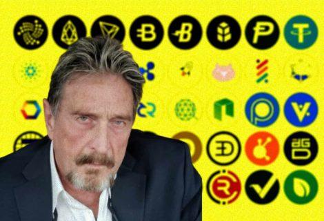 John McAfee Pump and Dump Crypto Scams
