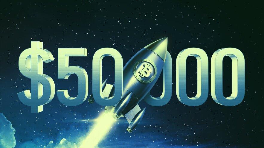 Another Bitcoin Milestone: Coin Breaks $50k Mark